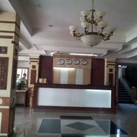 Photo taken at Citra Inn International Hotel and Restaurant by Gieun J. on 9/9/2012