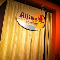 Photo taken at Absolute Comedy by Farrah O. on 5/20/2012
