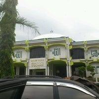Photo taken at Masjid Agung by Herru S. on 4/15/2012