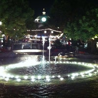 Photo taken at The Grove Water Fountain by Netspoky on 9/26/2011