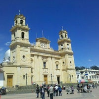 Photo taken at Basílica Nuestra Señora de Chiquinquirá by Bibi A. on 12/31/2011