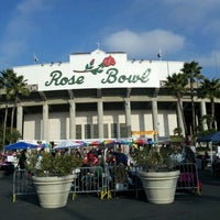 Photo taken at Rose Bowl Flea Market and Market Place by Mitch M. on 12/11/2011