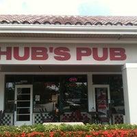 Photo taken at Hub's Pub & Sports Lounge by Julie I. on 5/8/2011