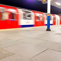 Photo taken at South Woodford London Underground Station by Simba C. on 8/9/2012