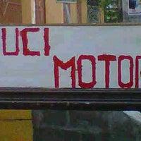 "Photo taken at Cuci Motor ""Mengkilat"" by R14ND B. on 5/19/2012"