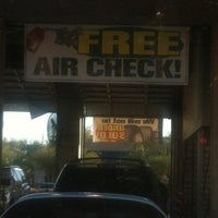 Photo taken at Discount Tire® Store by Michael S. on 1/17/2012