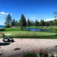Photo taken at Edgewood Tahoe Golf Course by Lisa V. on 6/22/2012