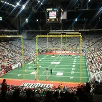 Photo taken at Jacksonville Veterans Memorial Arena by Tiwarna C. on 6/2/2012