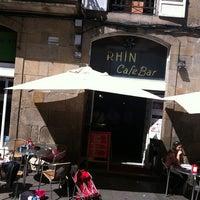 Photo taken at Rhin by Ignacio L. on 8/31/2012