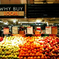 Photo taken at Whole Foods Market by Robert D. on 3/7/2012