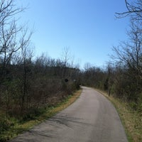 Photo taken at Mill Creek Greenway Trail by Angie A. on 3/3/2012