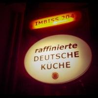 Das Foto wurde bei Imbiss 204 von Gunnar U. am 1/27/2012 aufgenommen