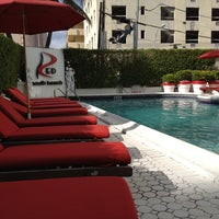 Photo taken at RED South Beach Hotel by Flemming C. on 8/12/2012