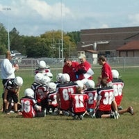 Photo taken at Sauk Prairie High School Stadium Field by Sheri W. on 9/24/2011
