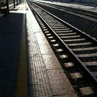 Photo taken at Stazione FS Bagheria by lui C. on 6/23/2012
