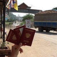 Photo taken at Banpakkad Immigration Checkpoint by Roman K. on 3/22/2012