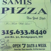 Photo taken at Sami's Pizza by Chuck F. on 9/2/2011