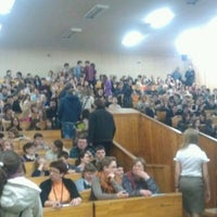 Photo taken at 120 аудитория by Alina P. on 3/13/2012