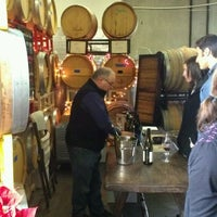 Photo taken at Convergence Zone Cellars by Wine T. on 12/31/2011