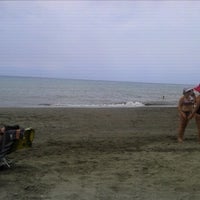 Photo taken at Rincón de la Victoria Beach by Gustavo M. on 7/25/2012