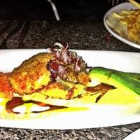 Photo taken at Desert Rose Restaurant by Lauren L. on 6/22/2012