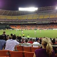 Photo taken at Robert F. Kennedy Memorial Stadium by Megan O. on 8/30/2012