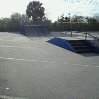 Photo taken at ponce inlet skatepark by Ian T. on 2/13/2012