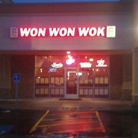 Photo taken at Won Won Wok by Nathan H. on 1/27/2012