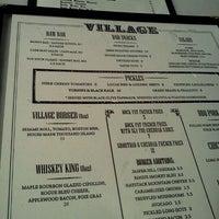 Photo taken at Village Whiskey by Alisa J on 9/18/2011