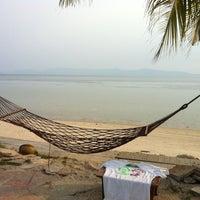Photo taken at First Villa Resort  Pha-ngan by Don C. on 3/31/2012