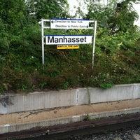 Photo taken at LIRR - Manhasset Station by Dennis B. on 9/12/2011