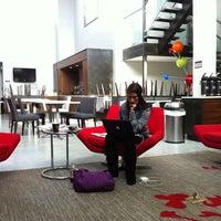 Photo taken at Fairfield Inn & Suites By Marriott New York Brooklyn by De S. on 10/20/2011
