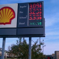 Photo taken at Shell by Adrian S. on 12/18/2011