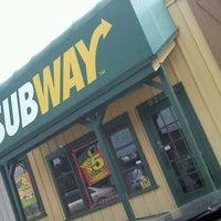 Photo taken at Subway by Brett E. on 10/9/2011