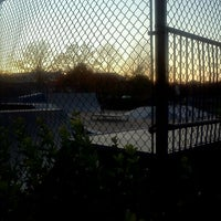 Photo taken at Fairfax City Skate Park by Crystal T. on 11/3/2011