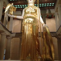 Photo taken at The Parthenon by Audrey P. on 4/13/2012