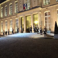 Photo taken at Palais de l'Élysée by Jeff C. on 12/7/2011