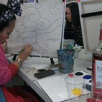 Photo taken at Painting Lounge by Alina G. on 3/24/2012