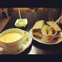 Photo taken at Jan's Health Bar by Greg L. on 1/31/2012