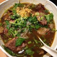 Photo taken at Bangkok Noodles & Thai BBQ by Luis R. on 8/17/2012