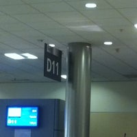 Photo taken at Gate D11 by Jenise C. on 12/24/2010