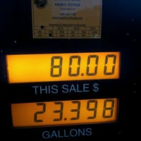 Photo taken at Hess Express by Stan W. on 1/22/2012
