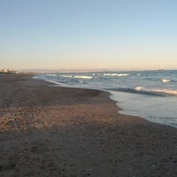 Photo taken at Platja de La Devesa by Manuel G. on 1/8/2012
