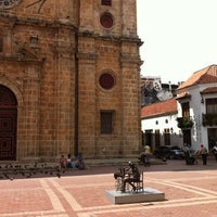 Photo taken at Plaza San Pedro Claver by William M. on 11/14/2011