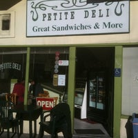 Photo taken at Petite Deli by Rafael M. on 12/16/2011