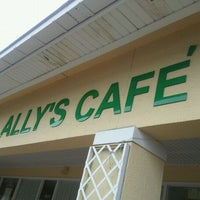 Photo taken at Ally's Comfort Cafe by Farrell H. on 2/11/2011