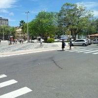 Photo taken at Praça Fausto Cardoso by Nicholas S. on 12/21/2011