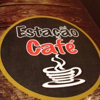Photo taken at Estação Café by Leandro X. on 7/28/2012