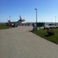 Photo taken at Spiekeroog Hafen by Mathias on 3/25/2012