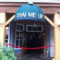 Photo taken at Thai Me Up Restaurant and Brewery by Michael A. on 8/1/2012